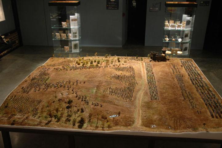 Battaglia di Azincourt vista complessiva