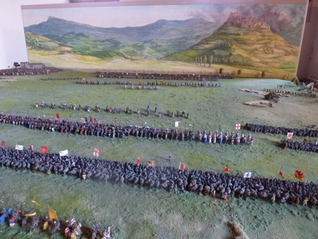 Battaglia di Campaldino - vista totale