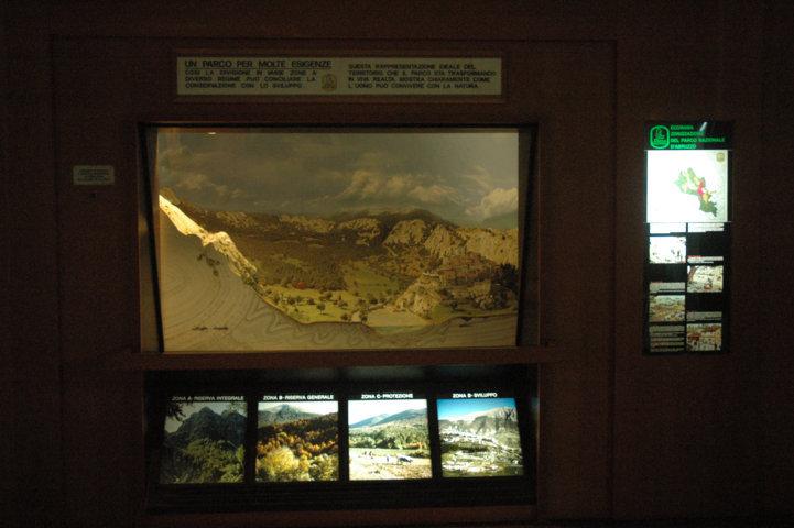 Sala zonazione - totale vetrina