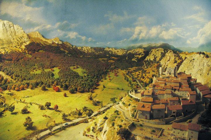 Sala zonazione - particolare diorama