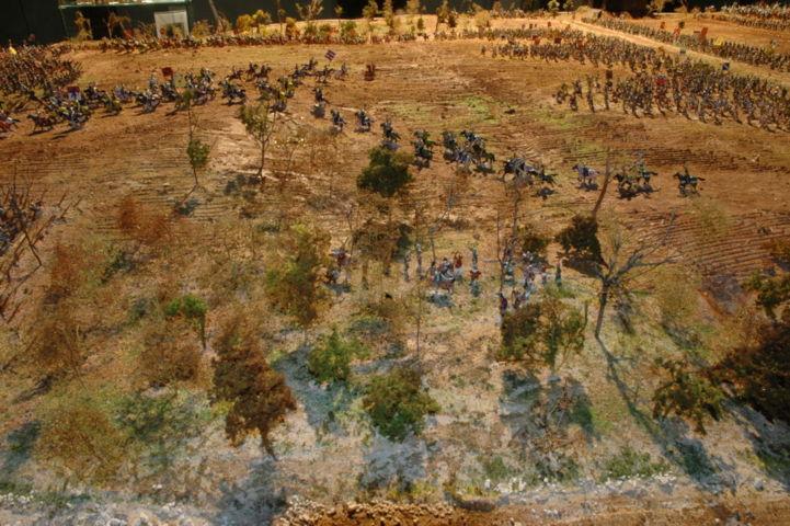 Battaglia di Azincourt vista parziale