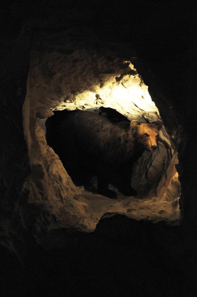 Grotta carsica - cunicolo laterale
