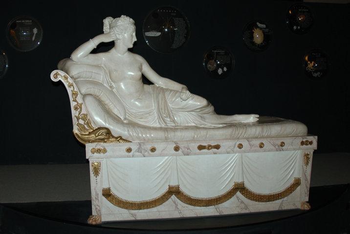 Sala Parassiti Umani - modello di Paolina Borghese
