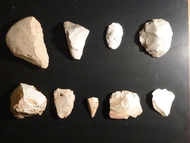 Geologia e Preistoria - Manufatti litici ricostruiti
