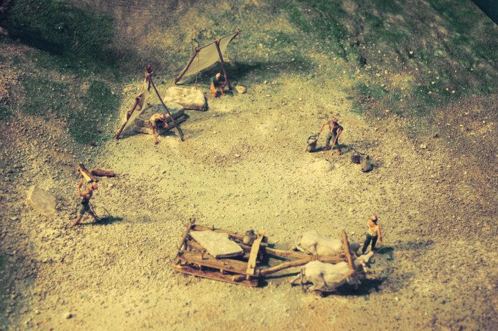 Cava storica del Furlo - piazzale
