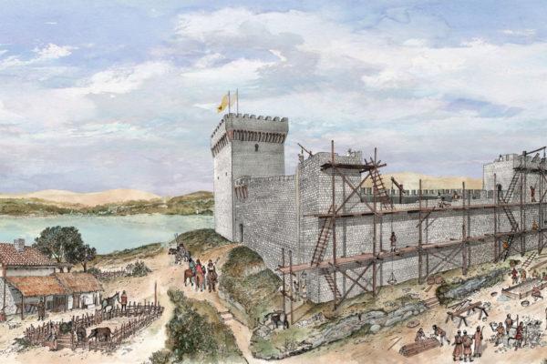 Castiglione del lago 1240 rocca del Leone