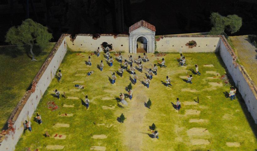 Battaglia di Solferino - I soldati austriaci si ritirano