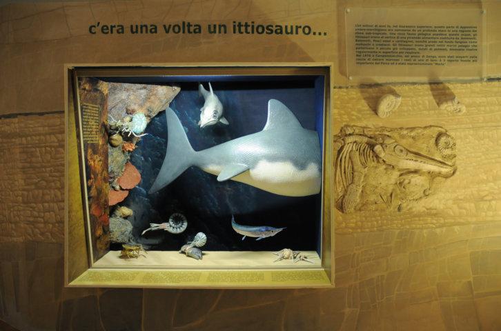 L'ittiosauro nel suo ambiente