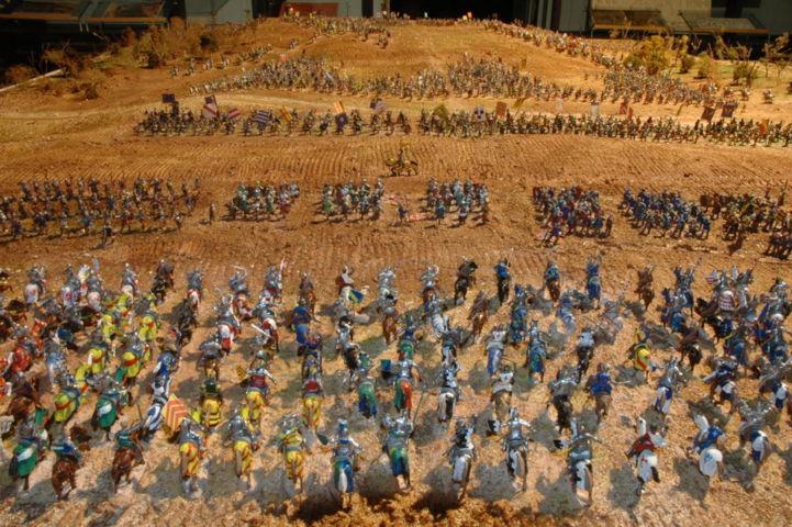 Battaglia di Azincourt - Lato francese