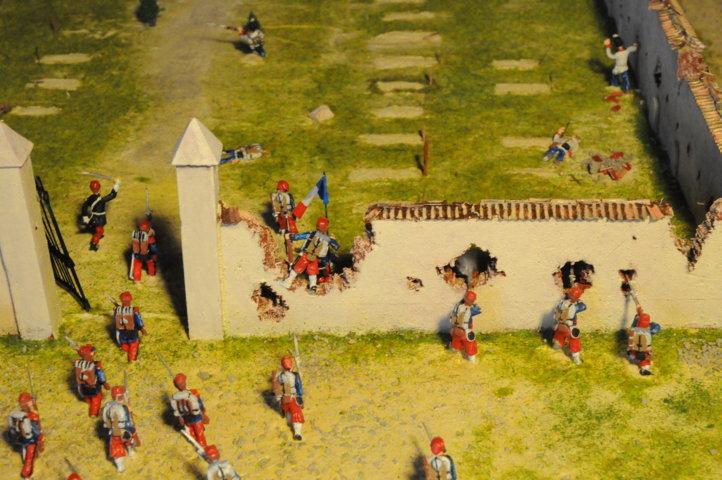 Battaglia di Solferino - L'ingresso dei soldati francesi