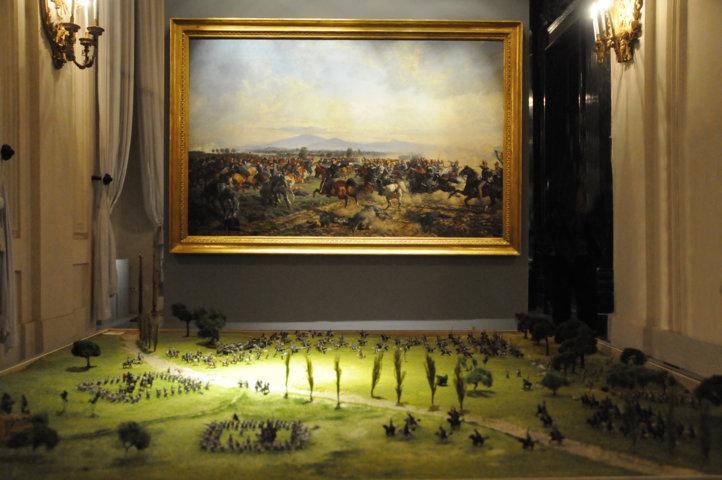 Battaglia di Custoza Villafranca - a Palazzo Reale di Torino