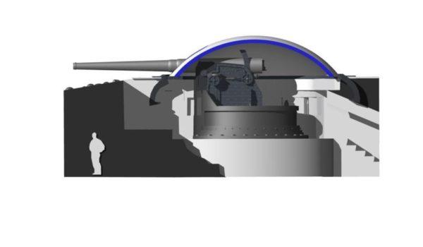 cannone armstrong scenografia