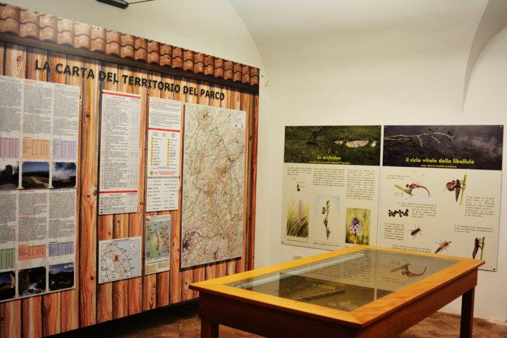 Il fiume Vernino - Carta del Territorio e pannelli