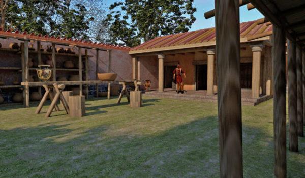 casa vasaio etrusco