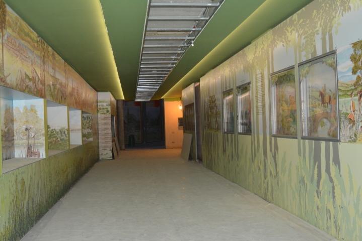 Museo Acquario del lago Trasimeno - Corridoio