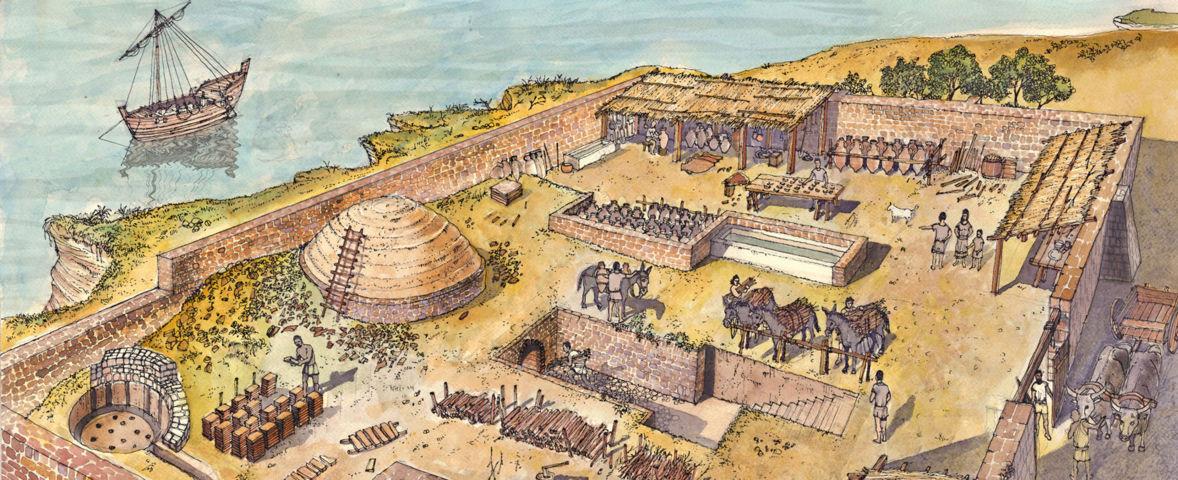 fornace di epoca romana