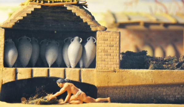 modelli - Costa Pugliese 2000 anni fa - fornace
