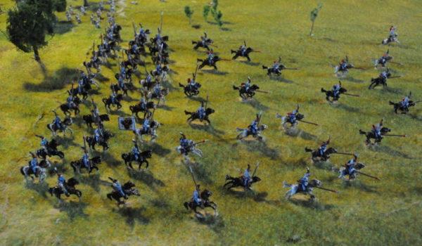 Battaglia di Custoza Villaf anacronistico /a·na·cro·nì·sti·co/ aggettivo Che non corrisponde, o contrasta, con le esigenze o le caratteristiche del proprio tempo.a - la carica degli Ussari - diorami