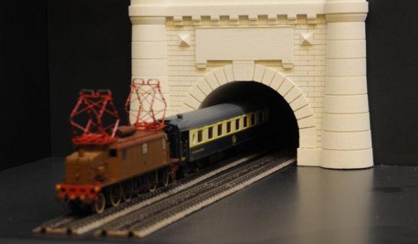 modello tunnel Frejus