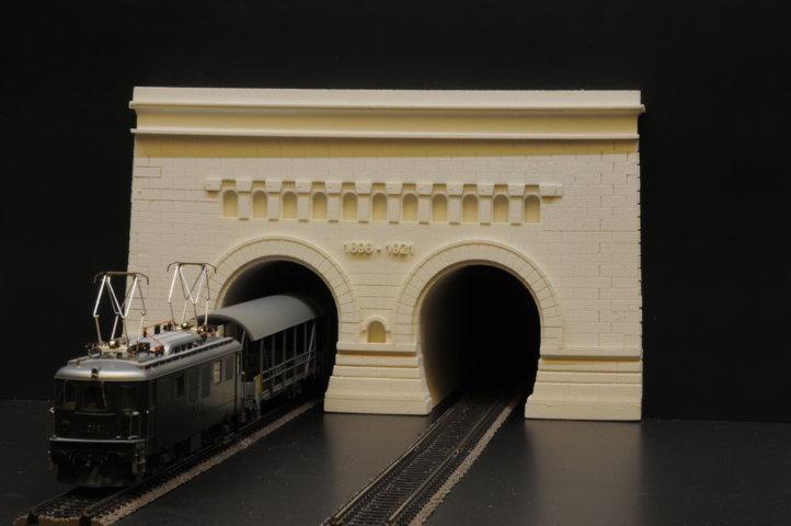 modello tunnel Sempione