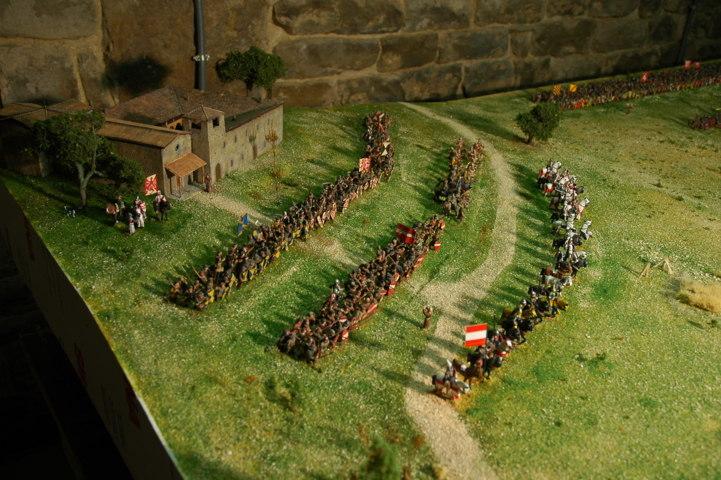 Battaglia di Campaldino - particolare