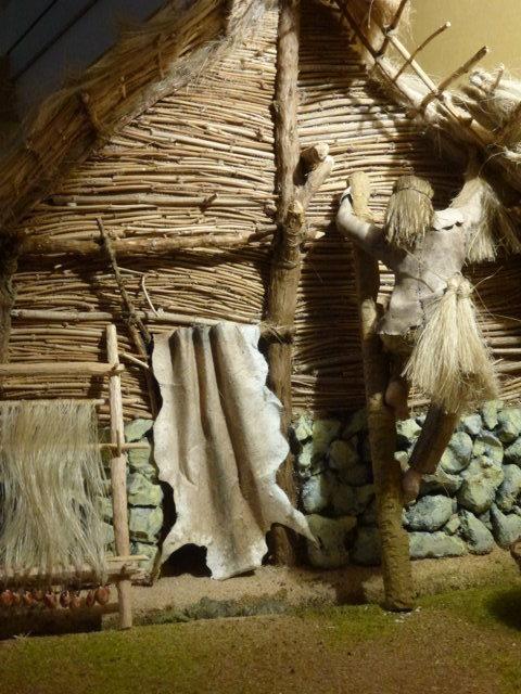 Casa dell'età del bronzo - particolare