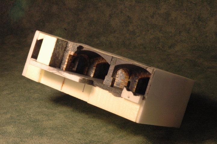 diorama Cantine Vaselli - particolare piccole cantine