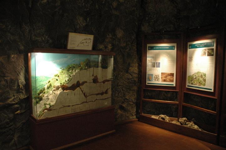 Musei del PNALM sala carsismo