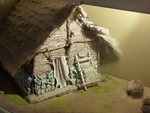 Casa dell'età del bronzo - vista totale