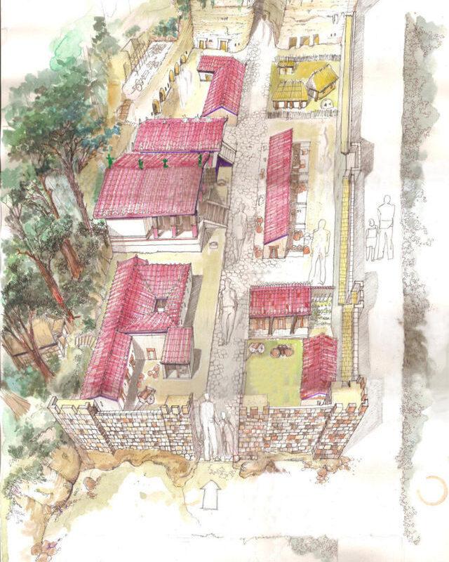 villaggio etrusco