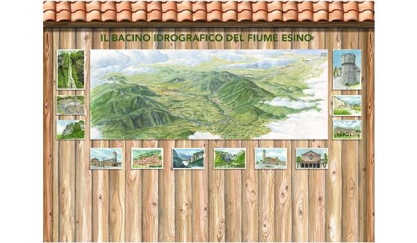 Bacino idrografico del fiume Esino