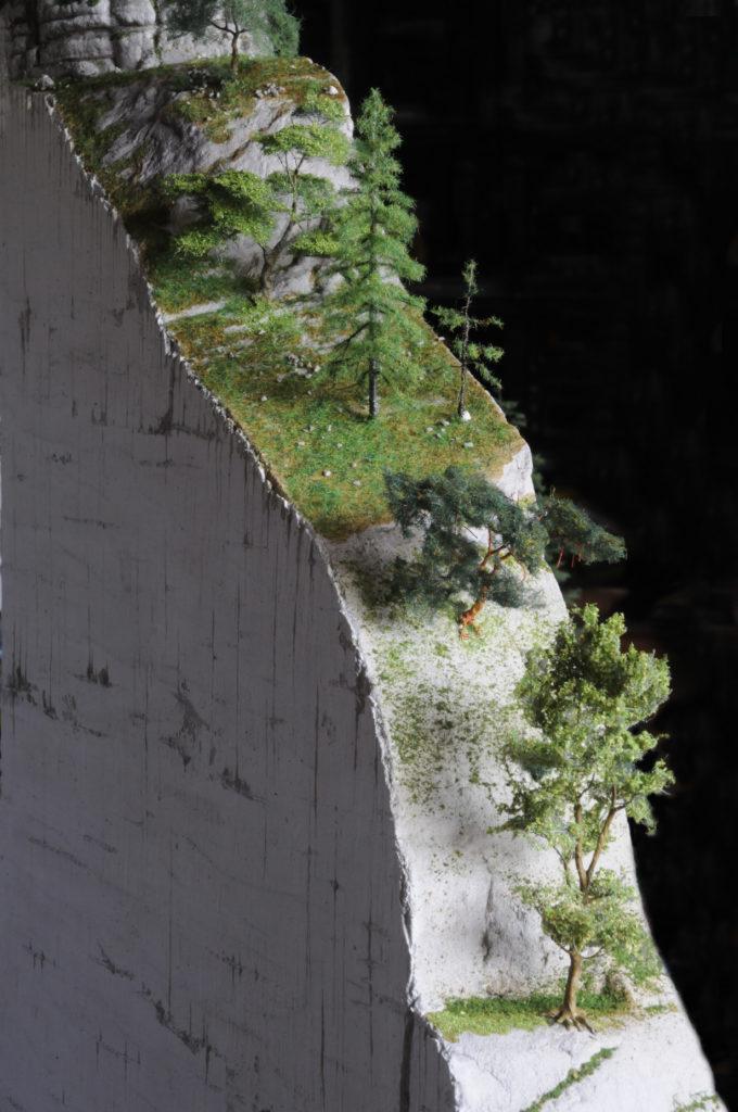 Particolare della parete
